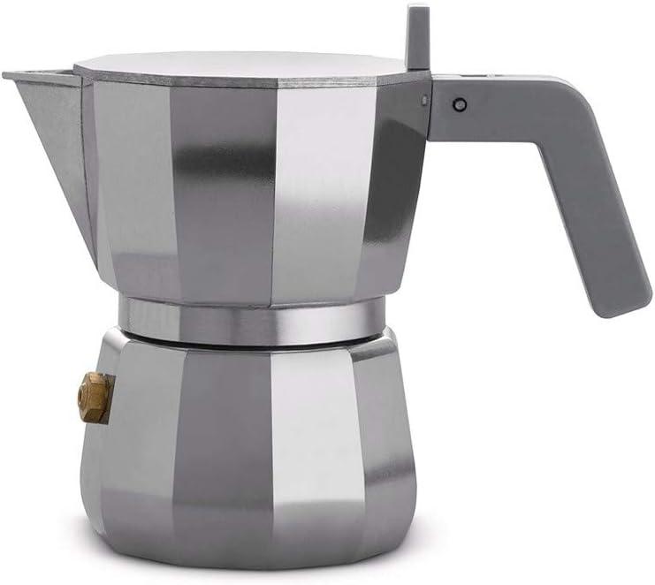 Alessi DC06/1 Espresso - Cafetera de espresso (aluminio): Amazon.es: Hogar