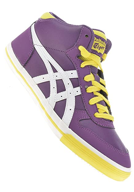 7b7a9d135ae6 Onitsuka Tiger Aaron MT GS shoe Purple   White