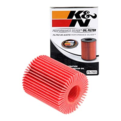 K&N Premium Oil Filter: Designed to Protect your Engine: Fits Select LEXUS/TOYOTA Vehicle Models (See Product Description for Full List of Compatible Vehicles), PS-7023: Automotive