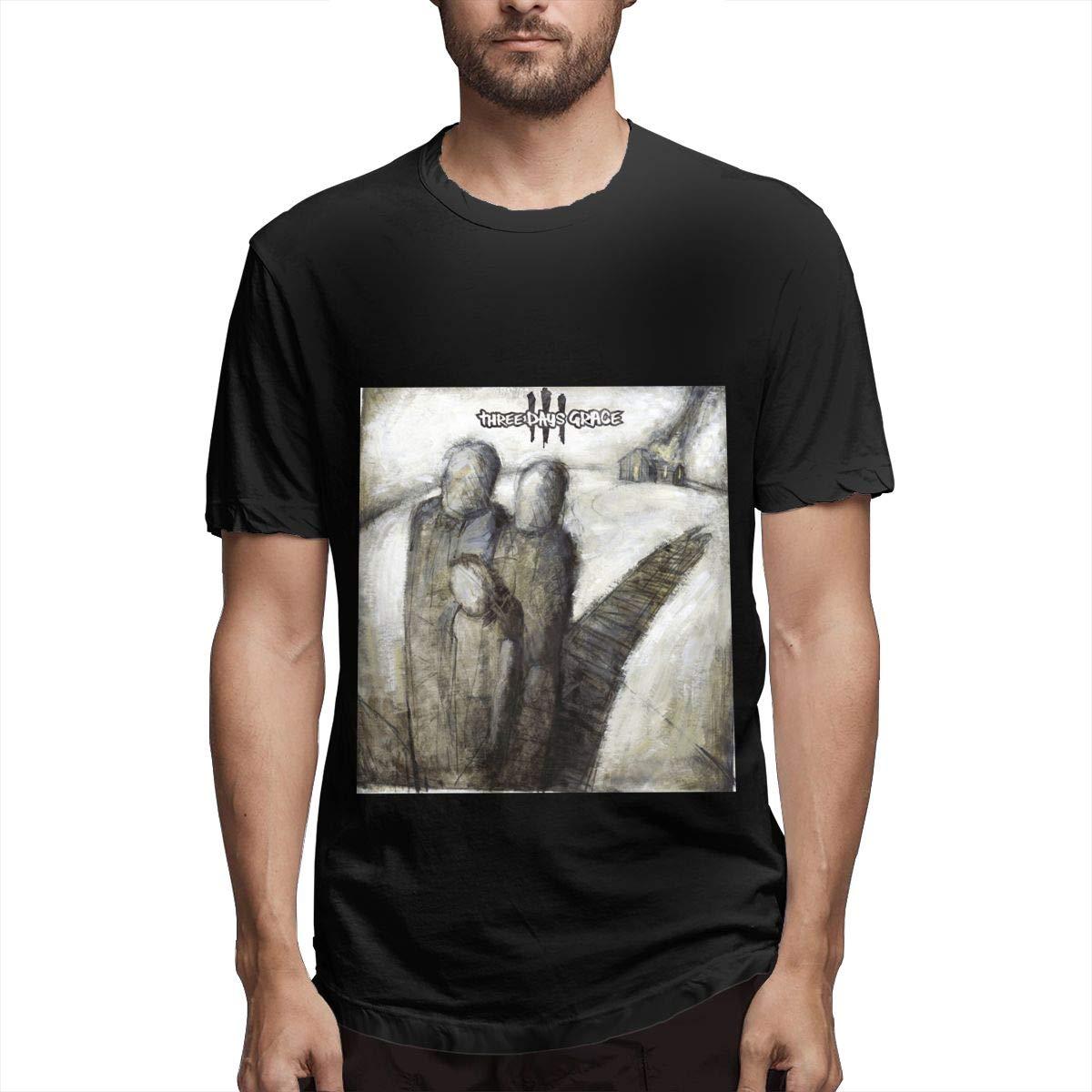 Lihehen S Three Days Grace Round Neck T Shirts