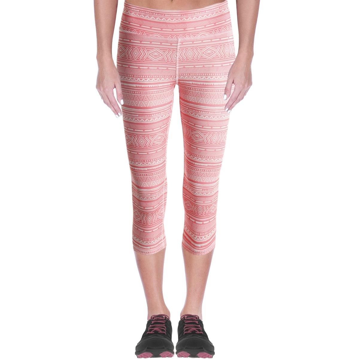Energie Active Junior's Paula Cropped Leggings Neon Melon Tribal S 60426430