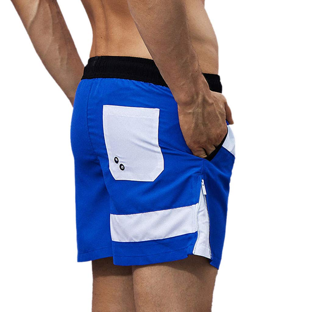 Giulot Active Mens Surfing Workout Shorts Quick Dry Shorts Classic Fit Training Swim Trunks for Young