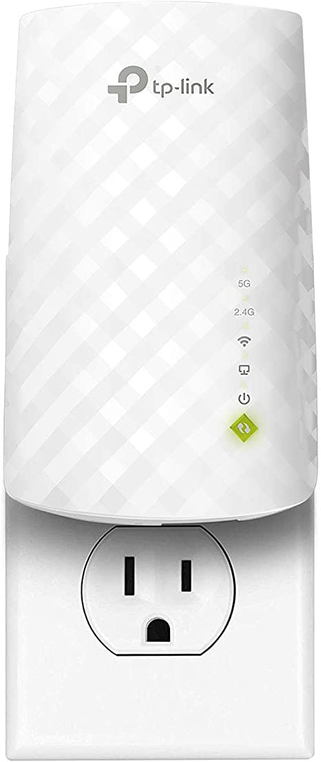 TP-Link | AC750 WiFi Range Extender - Dual Band Cloud App Control | 2019 Release | Up to 750Mbps | One Button Setup Repeater, Internet Booster, Access ...
