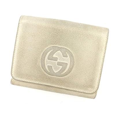 f69e414770a5 (Gucci) グッチ Wホック財布 二つ折り 財布 レディース インターロッキング 中古 S608
