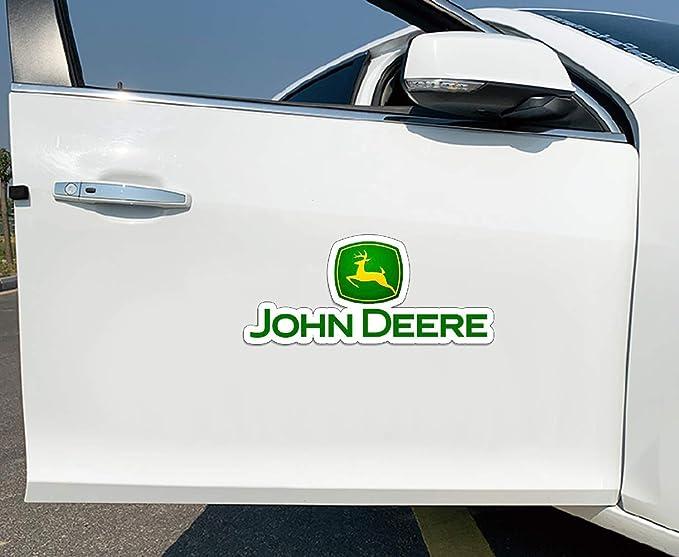 Aufkleber Für John Deere Ackerschlepper Gator Landwirtschaft Auto Moto Auto Tuning Seite Aufkleber Lustige Aufkleber 13 Cm X 5 6 Cm Baumarkt