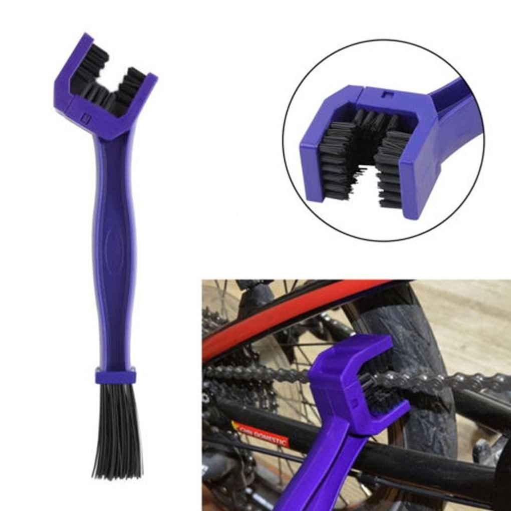 Masterein Fahrradkette Reinigungsb/ürste Fahrrad Motorrad-Fahrrad-Gang-Reinigungsb/ürste Reiniger Scrubber