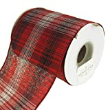 Homeford FRR092918W93710F Ribbon, 4'', Red