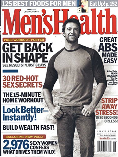 Mens Health Magazine June 2006: Hugh - Hot Portugal Gold