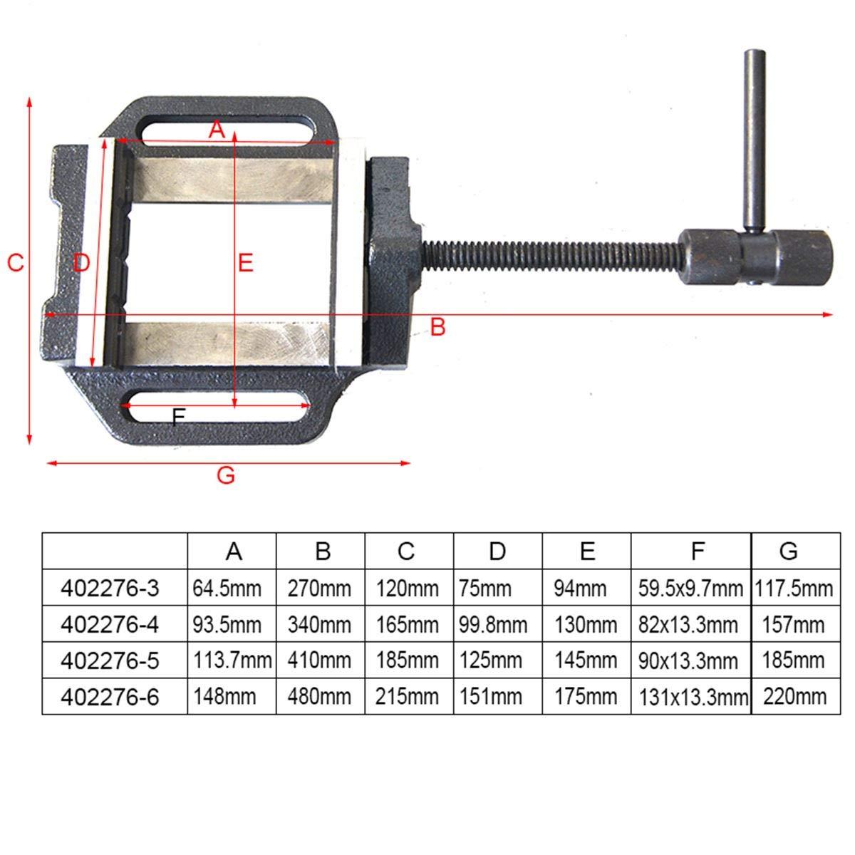 KATSU Precision Press Drill Vice Type allemand 6