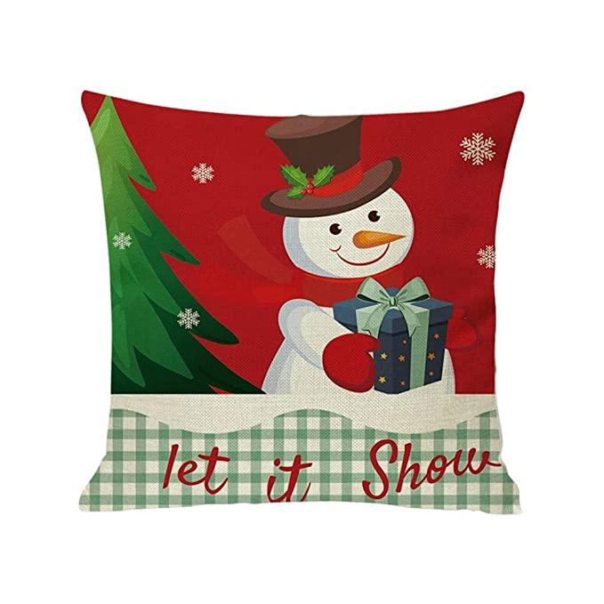 LIMITA - Fundas de cojín navideñas, de algodón, para ...