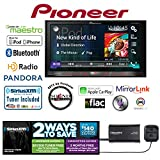Pioneer AVH-4200NEX In Dash Double Din DVD Receiver with SiriusXM SXV300v1 Tuner and Antenna with a FREE SOTS Air Freshener