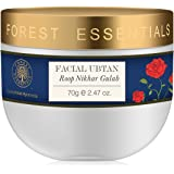 Forest Essentials Facial Ubtan Roop Nikhar and Gulab, 70g