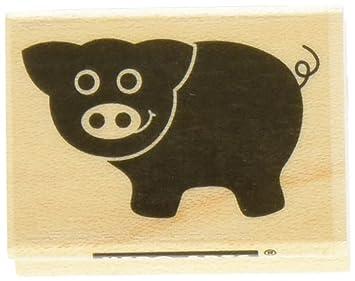 Hero Arts Little Pig Stamp