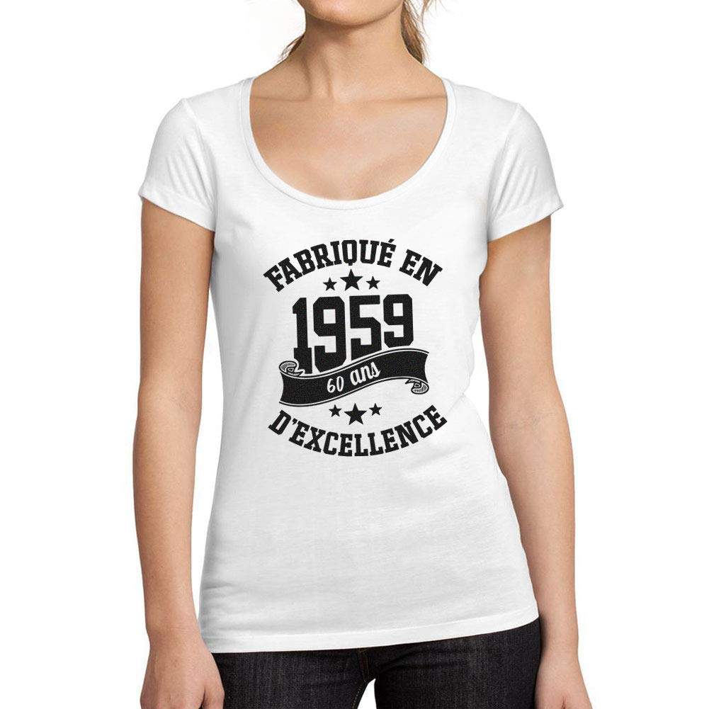 Ultrabasic - Camiseta para Mujer, Cuello Redondo, Escote ...