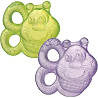 Playgro Teether Bees, Water Filled, 2 Pack, Multicolour