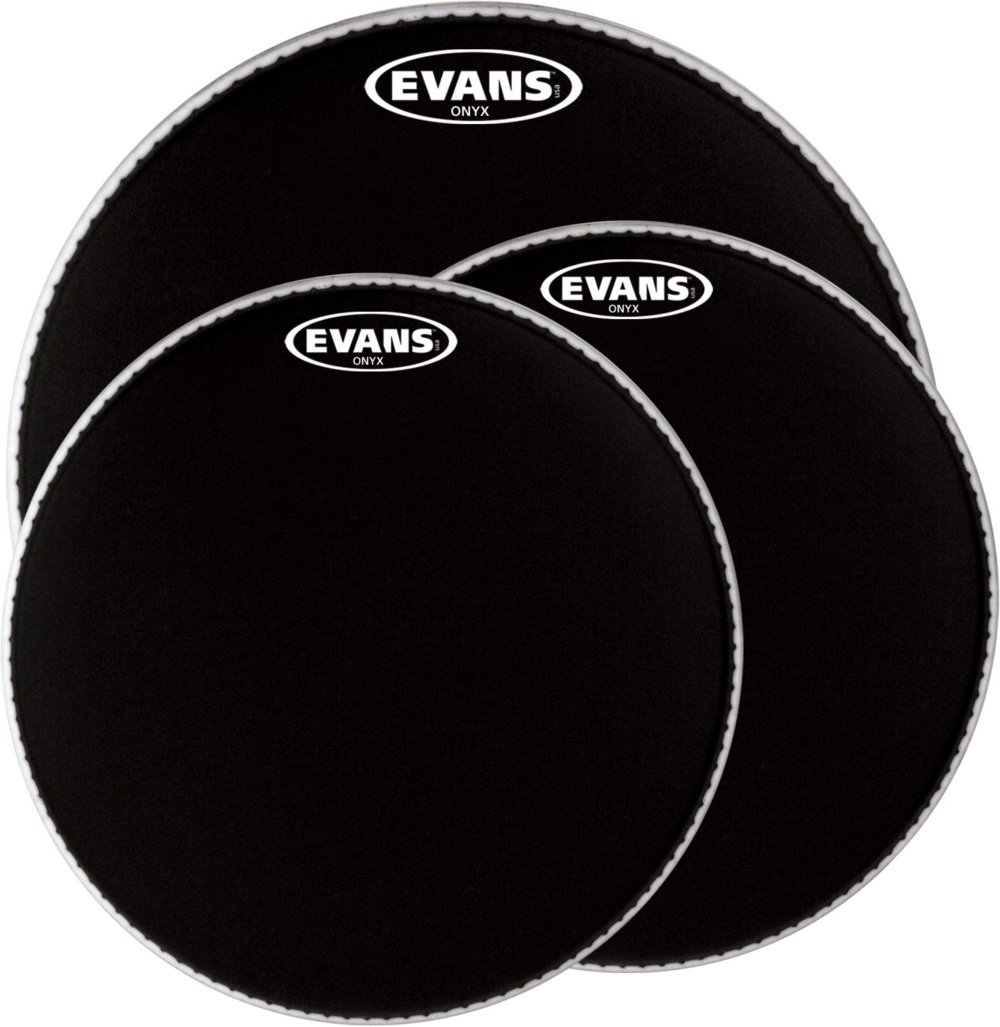 Evans ONYX Resonant Bass Drum Head, 22 Inch Evans Heads BD22RONX
