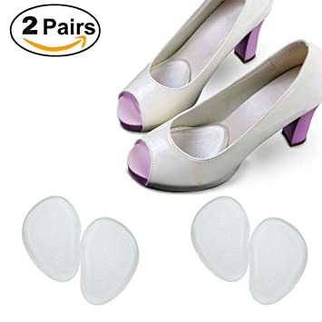 Ballotte Ball Of Foot Pain Relief Metatarsal Pads For High Heels - Foot Gel Cushions - Massage Shoe Inserts for Women - Metatarsalgia Treatment