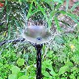 MIXC 100PCS Drip Emitters Fan Shape with Stake