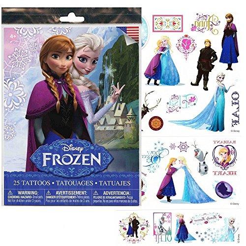 Disney Frozen Tattoos Princess Kristoff