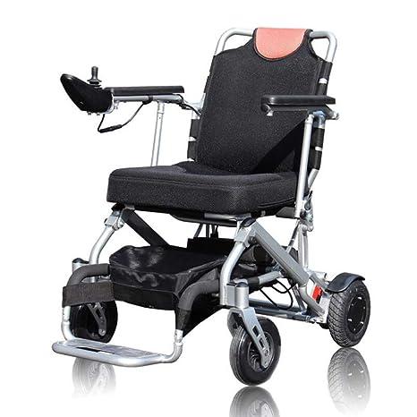 Silla de ruedas eléctrica XT-LY, eléctrica Plegable Ligera ...