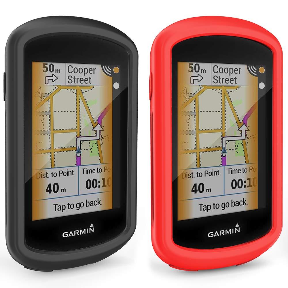 TUSITA Funda para Garmin Edge Explore GPS - Protector de Silicona Protector de Piel - Pantalla