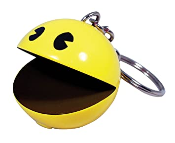 Pac Man Paladone Llavero con Sonido, diseño de comecocos