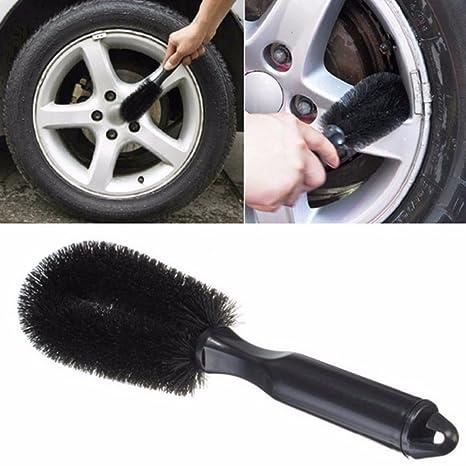 cepillo limpieza Círculos Aleación Tapacubos Llantas coche Car Tuning radios Rueda