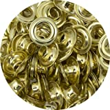 Springfield Leather Company Solid Brass 5/16'' Grommets 100 Pack