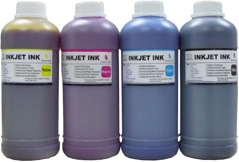 ND R@ 4X500ML Refill Dye Ink kit for 970 970xl 971 971xl Printer Cartridge