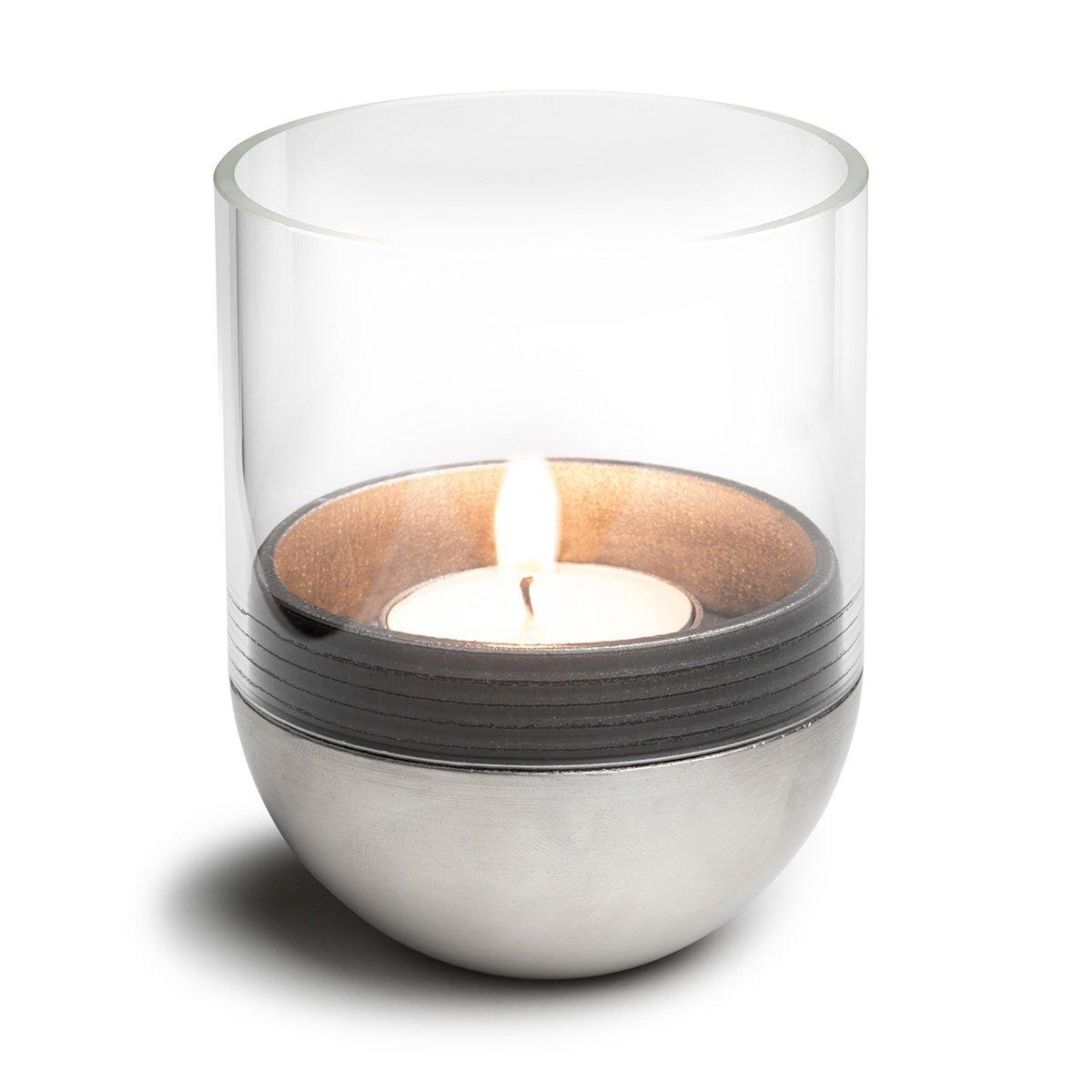 höfats - Gravity Candle M60 - Windlicht und Teelichthalter - hält Kerze waagerecht - Bequemes Anzünden und Erlöschen höfats GmbH 080101