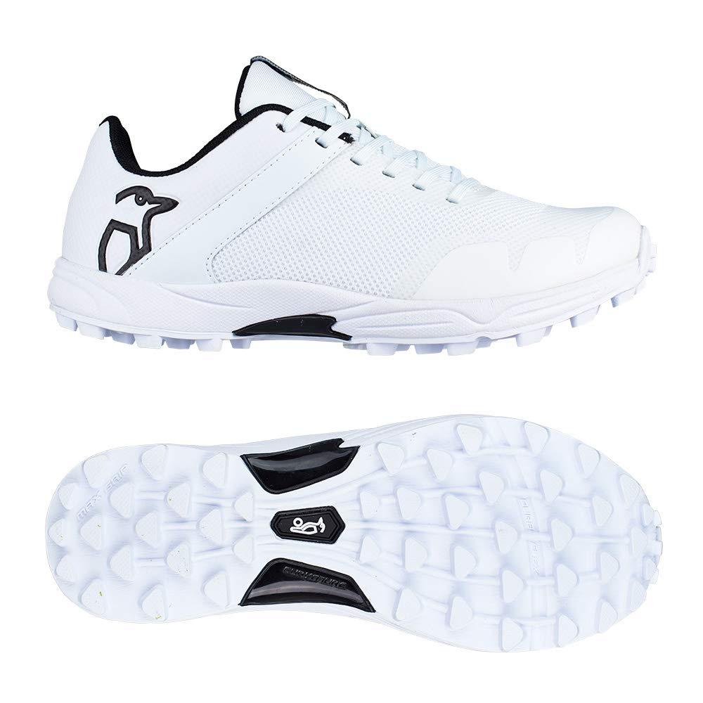 Kookaburra 2019 KC 3.0 Rubber Mens Adult Cricket Shoe Spike White