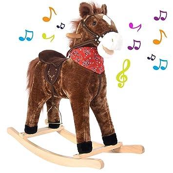 Cavallo A Dondolo Peg Perego.Bakaji Cavallo A Dondolo Per Bambini Con Suoni Realistici