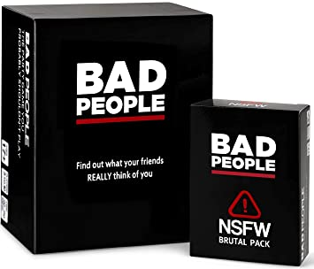 The Party Game You Probably Shouldn/'t Play The The Complete Set BAD PEOPLE -