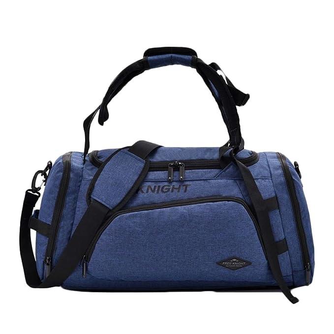 snfgoij Bolsas De Gimnasio Para Hombre Holdall Weekend Travel Bag Bag Mochila Multifuncional Resistente Al Agua De Gran Capacidad: Amazon.es: Ropa y ...