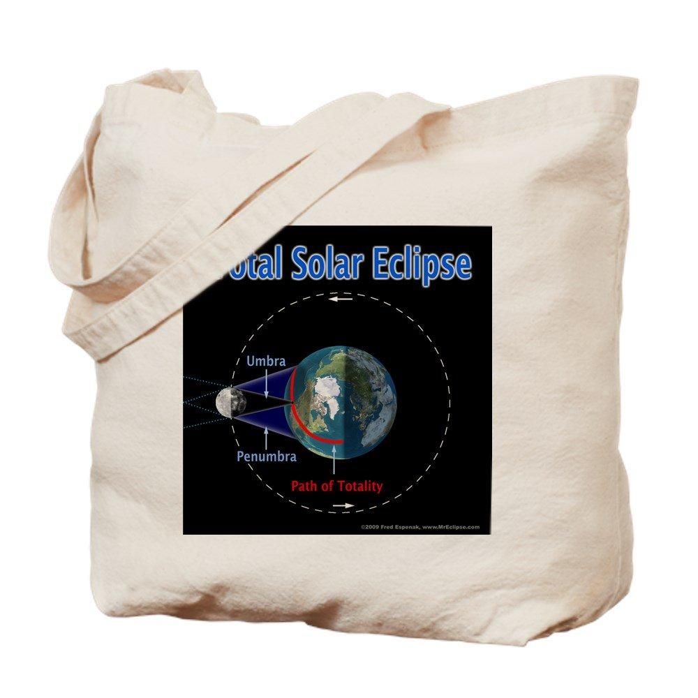 CafePress – 合計Solar Eclipse – 1、 – ナチュラルキャンバストートバッグ、布ショッピングバッグ M ベージュ 0389143328E9484 B074P5DS13 M