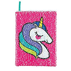 Magic Sequi Unicorn 80 Page Lined Journal