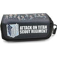 Anime Pencil Case Stationery Bag Attack on Titan Pen Bag Pencil Bag