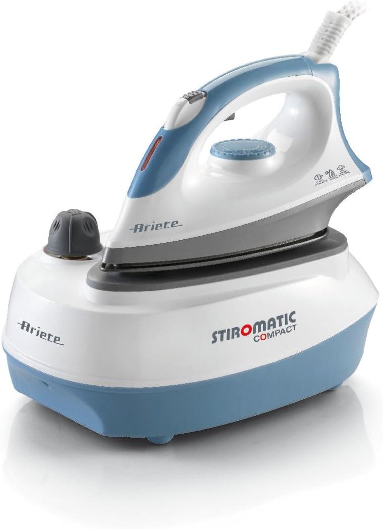 Ariete 00s625303ar0 6253 plancha al vapor Stiro Matic Compact para perfecta Resultados, 2400 W, color blanco y azul: Amazon.es: Hogar