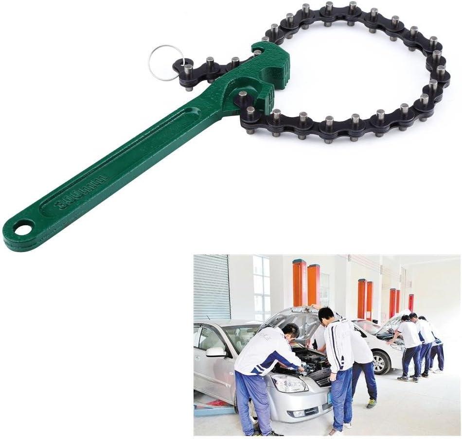 12 in Qiilu voiture cha/îne type huile filtre /à carburant cl/é cl/é enl/èvement outil