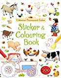 img - for Farmyard Tales Sticker and Colouring Book book / textbook / text book
