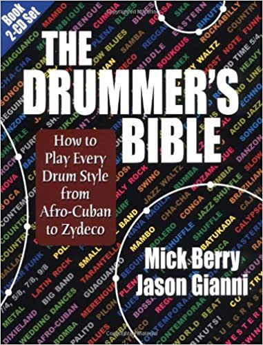The Drummer's Bible: How to Play Every Drum Style from Afro-Cuban to Zydeco by Mick Berry (2003-08-01)