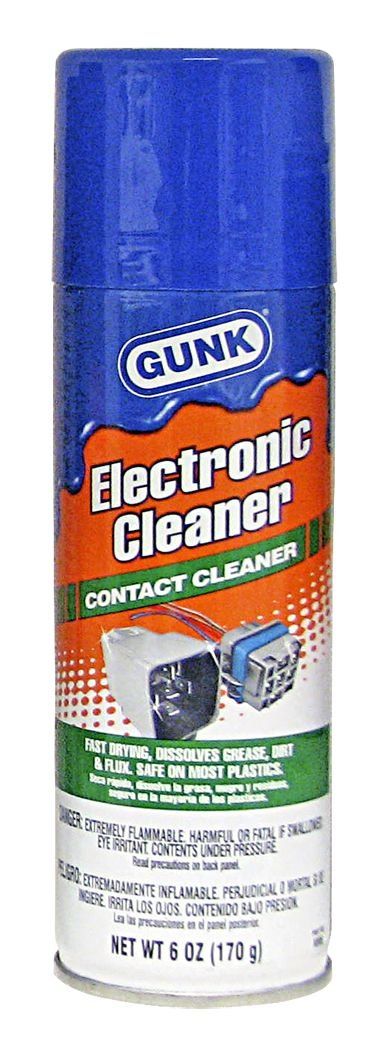 Gunk NM6 Electronic Cleaner - 6 oz.