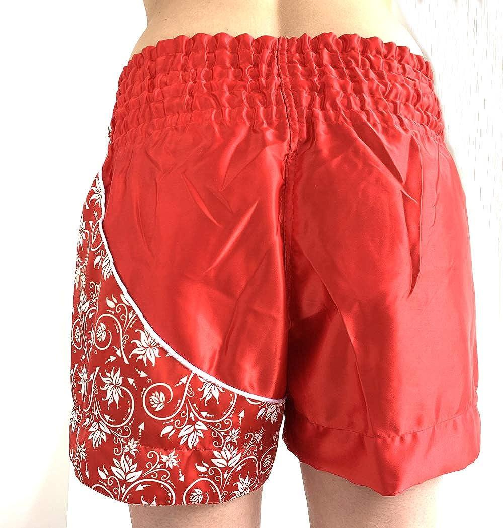 Pantalones cortos de Muay Thai para boxeo Thai MMA, Kick Boxing, artes marciales y fitness Extiff
