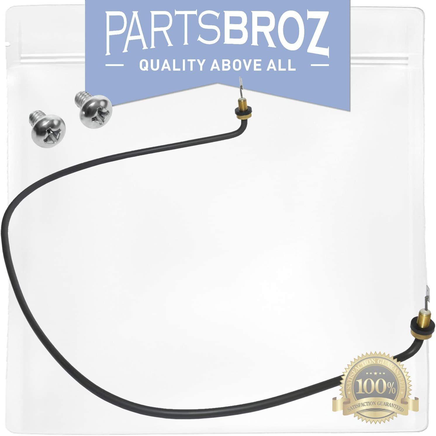 W10518394 Heating Element for Whirlpool Dishwashers by PartsBroz - Replaces Part Numbers AP5690151, 2977737, 8194250, 8563007, 8572861, PS8260087, W10134009, W10518394VP