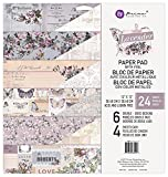 Prima Marketing Lavender-12x12 Paper Pad Lavender-12x12 Paper Pad