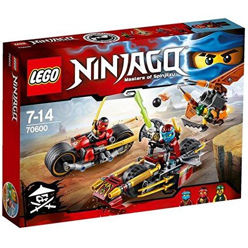 LEGO Ninjago ninja moto Chase, 70600 7 +: Amazon.es ...