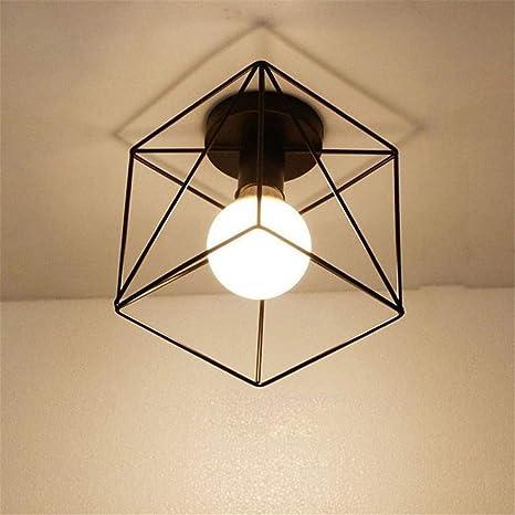 Amazon.com: Luces de techo vintage lustre LED lámpara de ...