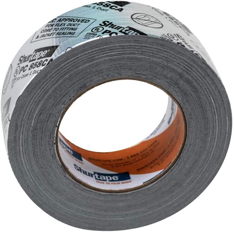 2-Pack 1404523 1.88 Inches x 30 Yards 1 Roll Duck Brand HVAC Duct Sealing Tape Silver