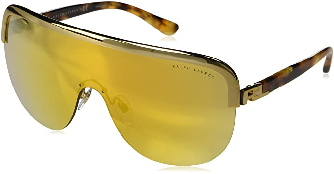 Ralph Lauren 0Rl7057 Gafas de sol, Antique Gold, 61 para ...