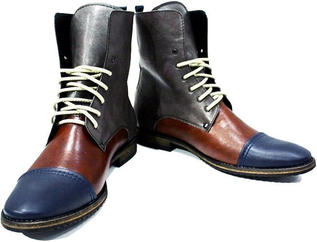 Handmade Italian Leather Mens Color